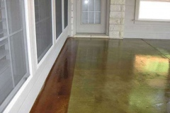 Acid Stains in Austin, Texas